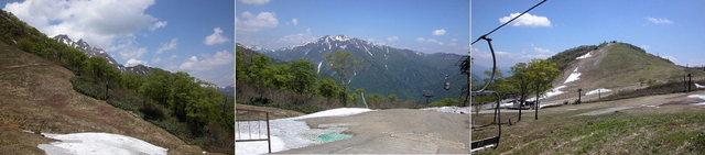 002 谷川岳・天神平  ロープウエイ頂上駅 2002.5.24.jpg