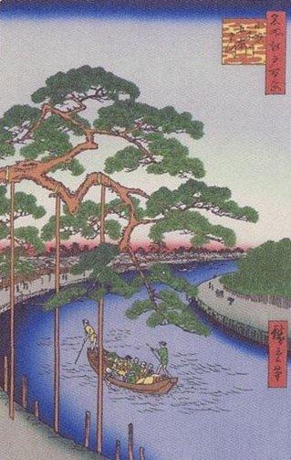 名所江戸百景 (小名木川・五本松).JPG