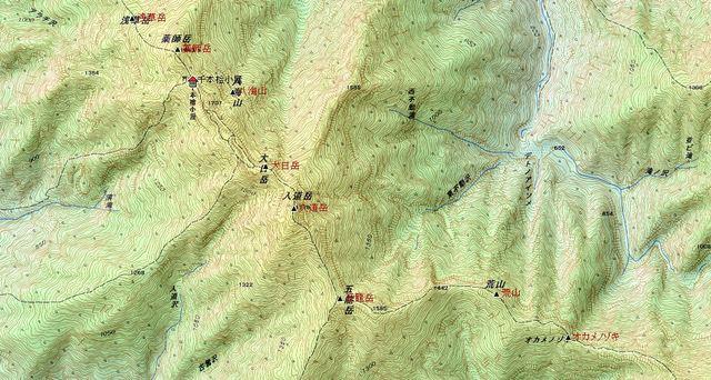 カシミール 八海山から五竜岳.JPG