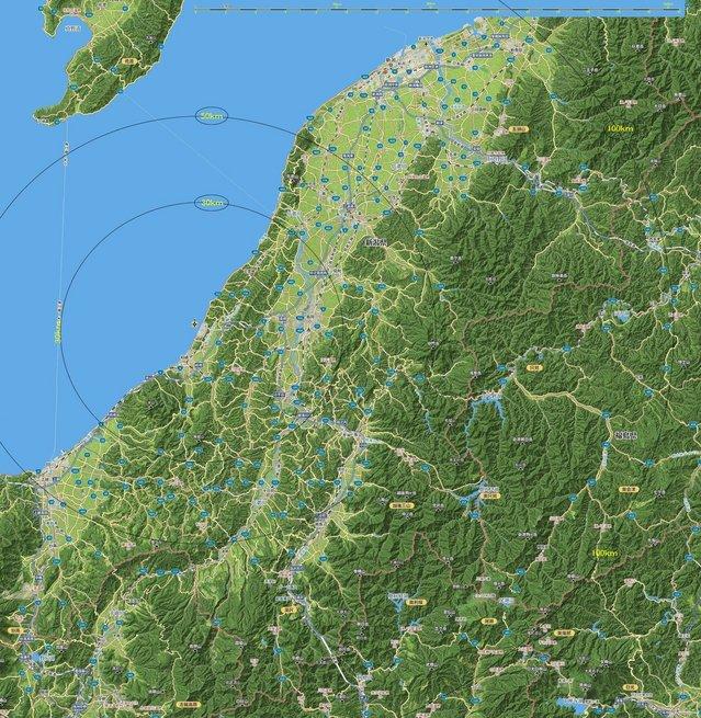 柏崎周辺地形図 C (Mapion 3Dmap より).jpg