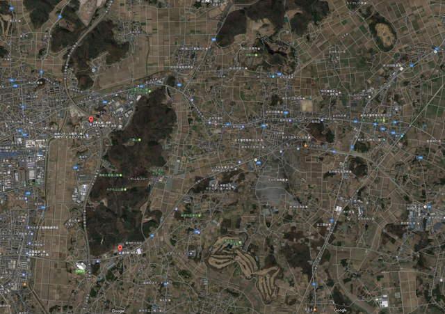 A003 【三毳山】周辺図 (Google Map).jpg